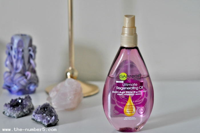 garnier body oil beauty favourites