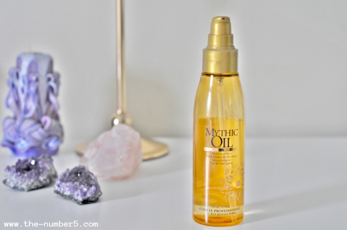 loreal professional mythic oil hair beauty favourites