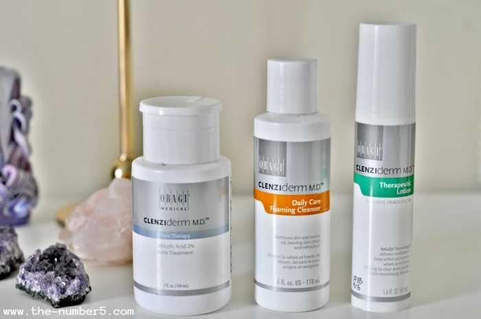 obagi clenziderm line beauty favourites